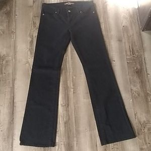 THE LIMITED BLACK BOOTCUT JEANS